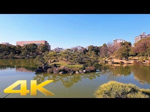 Walking around Kiyosumi Teien(Garden), Tokyo - Long Take【東京・清澄庭園】 4K