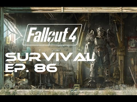 Fallout 4 Survival 100% - Ep. 86 - Castle Armor, Yangtze Sub, Harbormaster Hotel, Medical Center 1/2