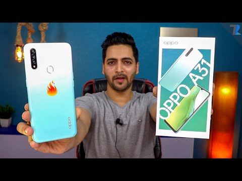 OPPO A31 - Unboxing & Hands On | Big Display, Big Battery, But...