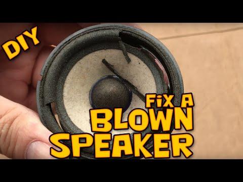 DIY BMW E46 Harman Kardon front door speaker repair – Blown Speaker Repair