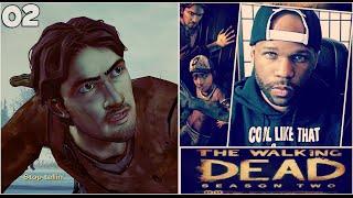 The Walking Dead Season 2 - Episode 5 - Part 2 - Walking on Ice!