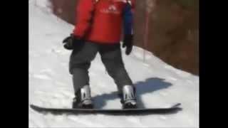 Урок№ 3 Видео как научиться кататься на сноуборде