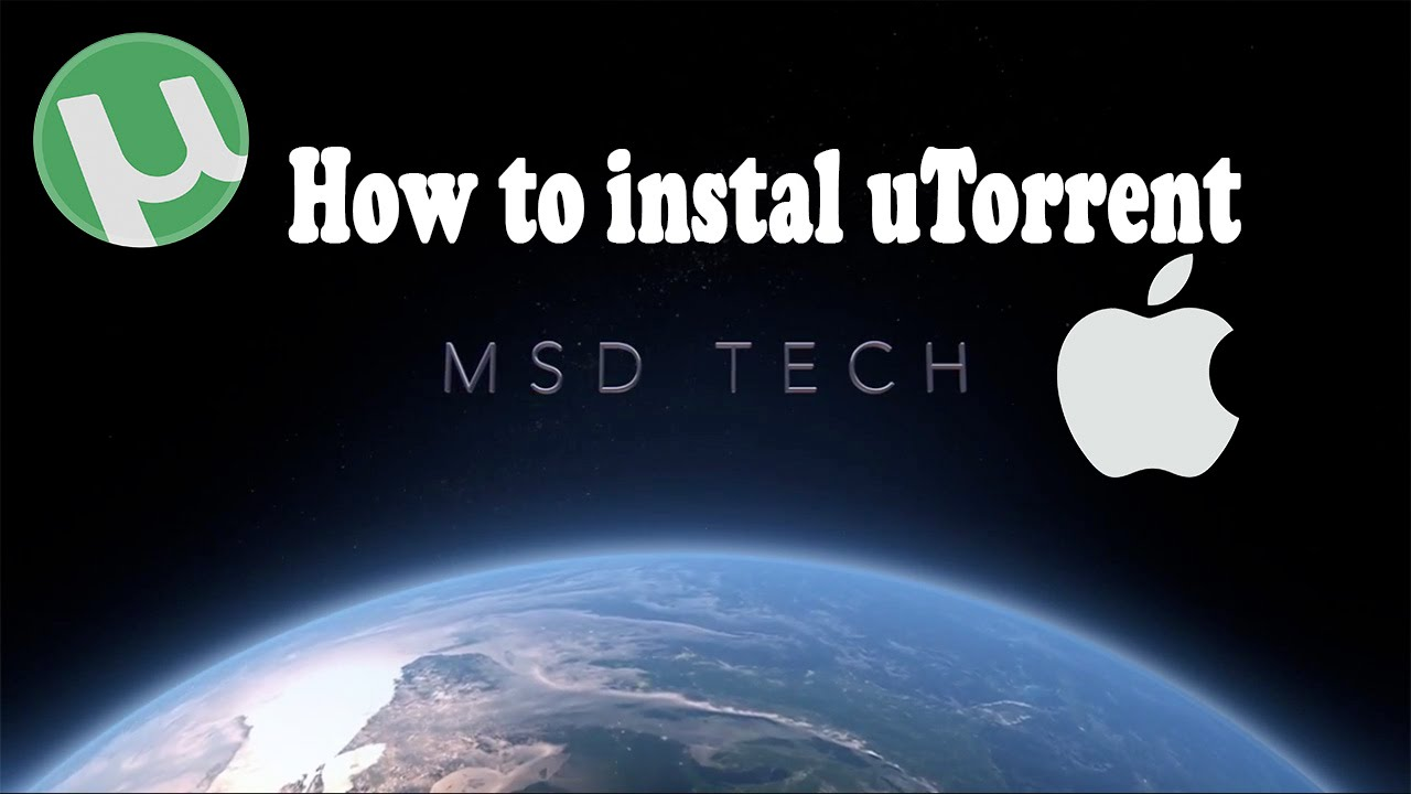 How to instal uTorrent - mac - YouTube
