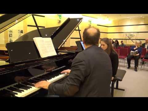 Claudio Martínez Mehner teaches Marina Marina Yakhlakova Brahms Piano Sonata No. 1, C major, Op.1.