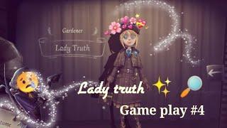 ||IDENTITY V|| gardener Lady truth game play 🔎//poor baby Joseph uwu\