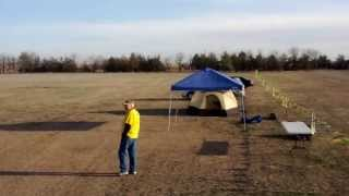 John Deere Tractors as Kansas kite anchors