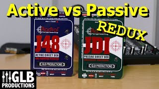 DI Boxes Part 5: Active vs. Passive revisited