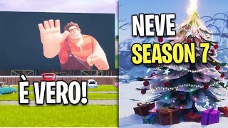 C'È RALPH! SEASON 7: NEVE CONFERMATA! Fortnite Battle Royale