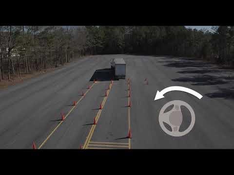 CDL Training: Offset Back Maneuver