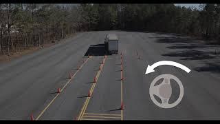 CDL Training: Offset Bąck Maneuver