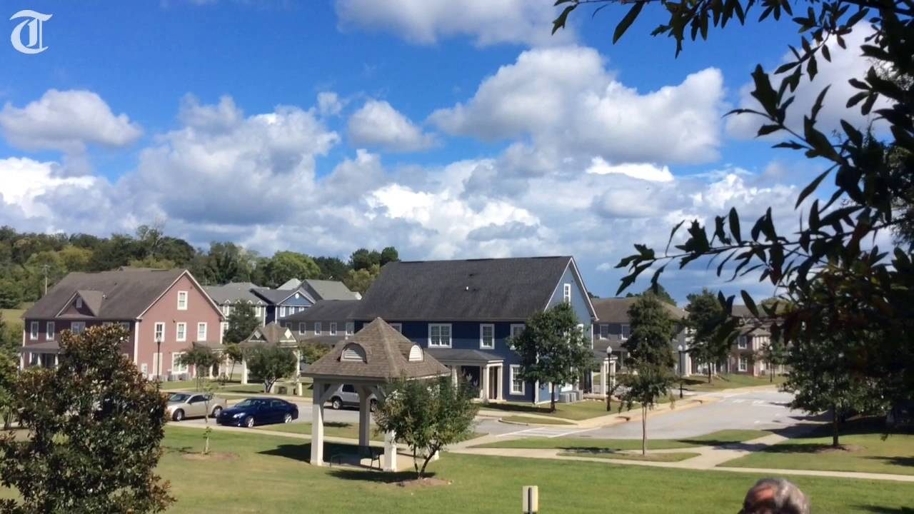 Macon Affordable Housing Pioneer Visits Tattnall Place Youtube