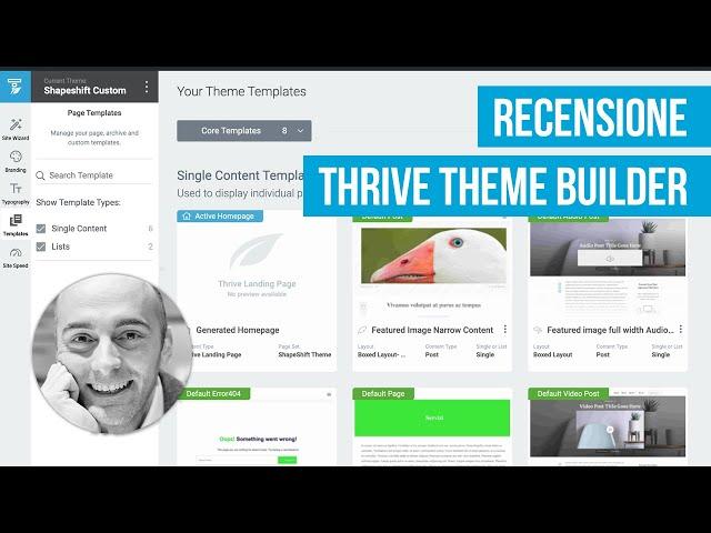 Thrive Theme Builder per crea velocemente il tuo sito WordPress;Thrive Architect: come usare questo page builder per WordPress;Profilazione contatti e lead generation con Thrive Architect su WordPress