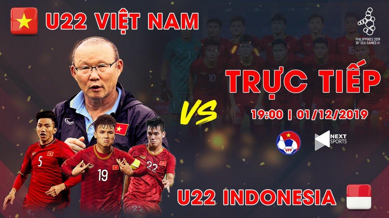 FULL | U22 VIỆT NAM vs U22 INDONESIA | BÓNG ĐÁ NAM SEA GAMES 30 | NEXT SPORTS