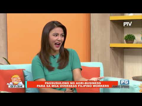 ON THE SPOT: Pagsusulong ng agri-business para sa mga Overseas Filipino Workers