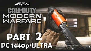 CALL OF DUTY MODERN WARFARE 2019 no commentary PART 2 Gameplay