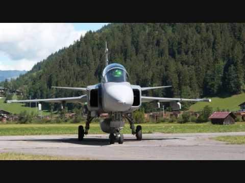 Gripen in Switzerland Top Gun Anthem - Harold Faltermeyer