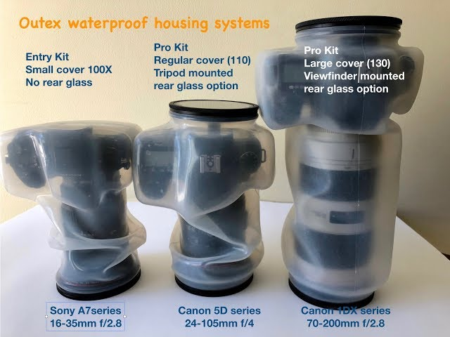 Outex Waterproof System Entry vs. Pro Kit Comparison
