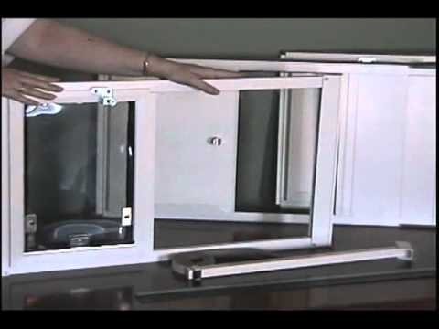 Vertical Window Pet Door Product Information Youtube