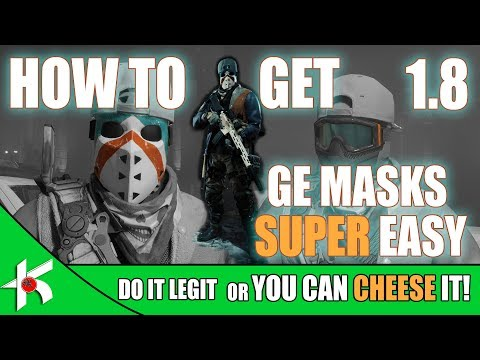 The Division | How to get 1.8 Global Event Masks SUPER EASY!
