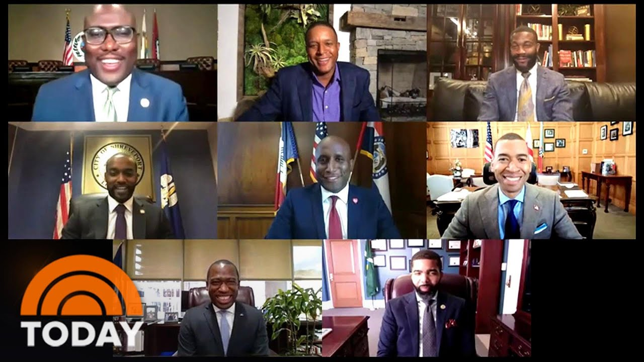 7 Black Mayors Form A Group Text To Help Each Other Face Challenges   TODAY