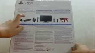 Sony PS3 Super Slim 12gb Unboxing [HD]