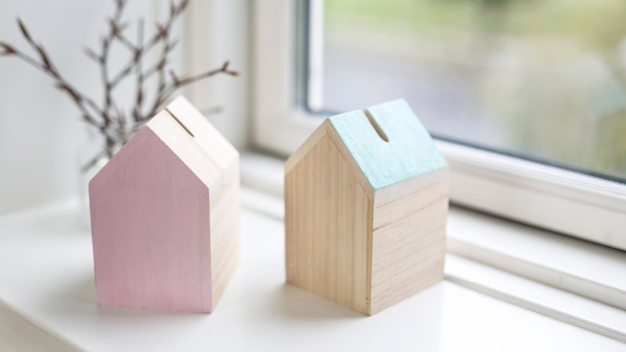 diy personal money box by s strene grene youtube. Black Bedroom Furniture Sets. Home Design Ideas