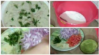 Loki raita summer and Ramzan Mubarak special recipe/gheya raita with green chilies souce. Maria,s ki