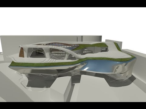 New Architectural Parametric and Organic Design
