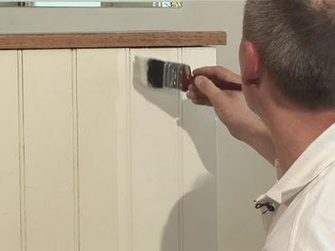 How To Paint Your Paneling Youtube
