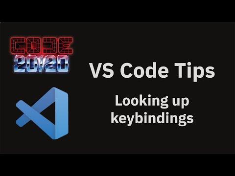 Looking up keybindings