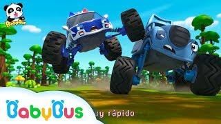 Auto Monstruo Patrulla | El Auto Malo Roba Mis Paletas | Canciones Infantiles | BabyBus Español