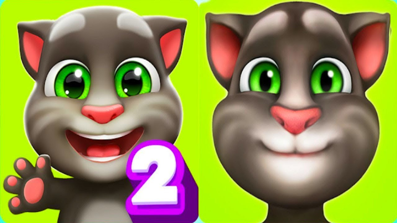 Мой Говорящий Том 2 История про двух котят - YouTube