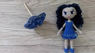 Вязаная крючком кукла Лэтти
