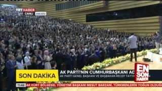 Recep Tayyip Erdoğan Cumhurbaşkanı Adayı