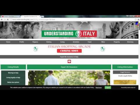 Expat Life insurance in Italy