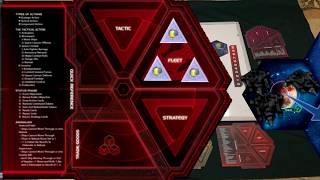 Twilight Imperium 4. Часть 2. Начальная расстановка токенов  (command tokens), стартовые технологии