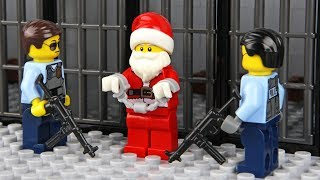 Lego Santa Claus Prison Break