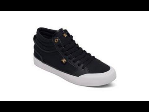 c1cb1a1a0b6 DC Evan Smith Hi Skate Shoes - Review - The-House.com - YouTube