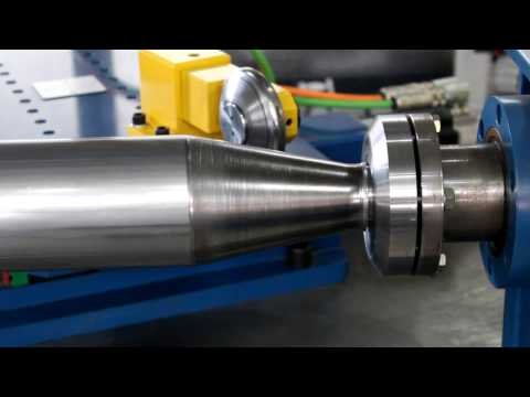 CNC Metal Spinning Robot End Forming Straight Tubes