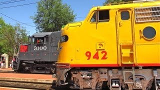 Union Pacific E8A/942 Special at OERM - 4/28/12
