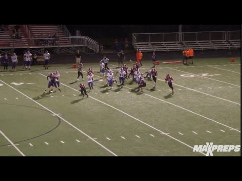 Orrville's Marquael Parks with the kick return of the year
