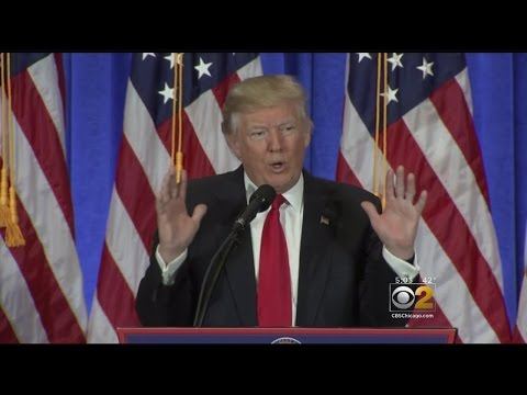 At News Conference, Trump Rails Against 'Fake News'