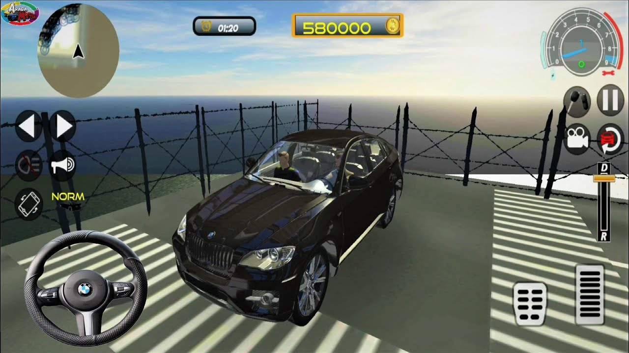 Direksiyonlu Bmw X6 Super Car Bmw X6 Super Araba Surus