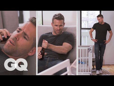 Ryan Reynolds Tries to Build an IKEA Crib | GQ