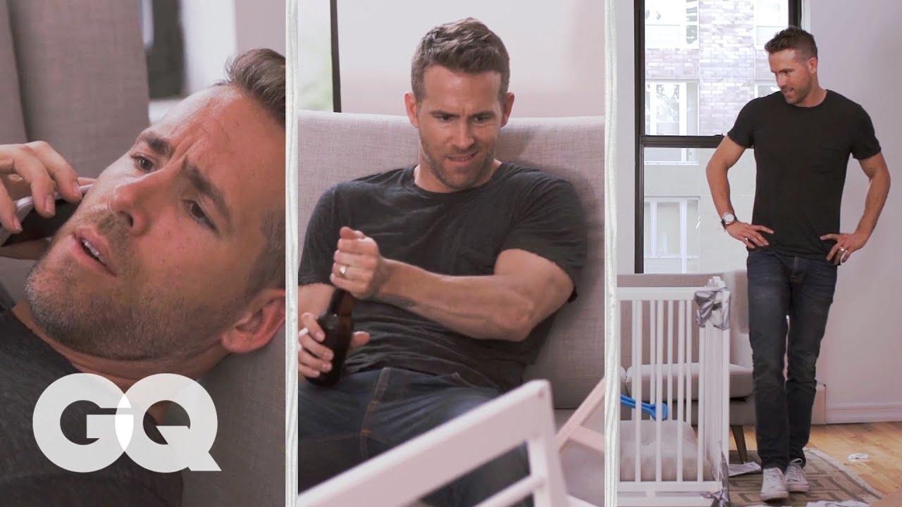 Ryan Reynolds Tries to Build an IKEA Crib | GQ