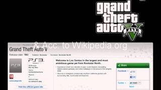 Release Date Gta According Wikipedia More Gta Info
