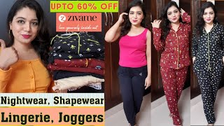 Zivame Nightwear & Lingerie Haul|Upto 60% off| Zivame GoLocal Sale| Huge Discounts|Pink's House