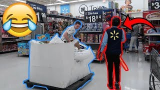 DOING YOUR DARES IN WALMART 3! *KICKED OUT*