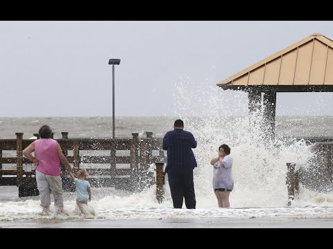 The Latest: High tides from Cindy in Louisiana, Mississippi