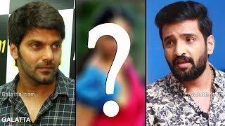 Santhanam Arya Heroine Problem?